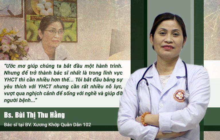 Bác sĩ Bùi Thị Thu Hằng trải lòng