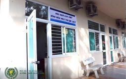 Khu nhà lưu trú bệnh viện YHCT Xương khớp Quân dân 102 trang bị đầy đủ các thiết bị, vật dụng cơ bản