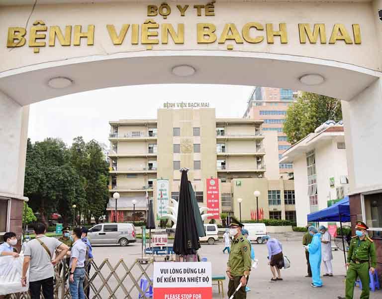 Mổ thoát vị đĩa đệm ở đâu tốt nhất không thể không nhắc tới bệnh viện Bạch Mai