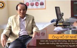 Bệnh nhân Hồ Sĩ Nhiếp chữa xương khớp tại Trung tâm Đông y Việt Nam