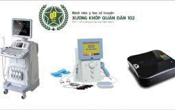 Thiết bị sóng âm, thiết bị máy điện xung và thiết bị scan