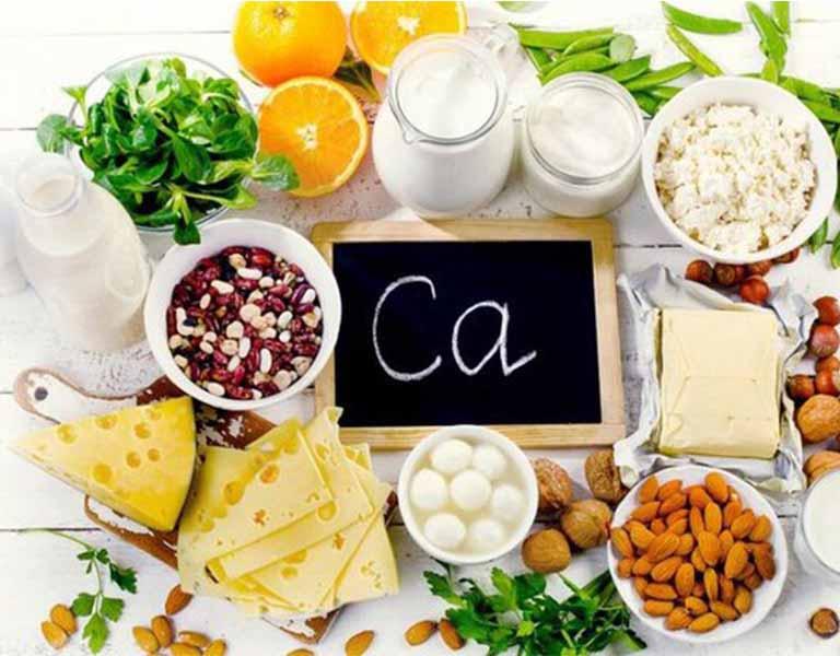 Bệnh nhân thoát vị đĩa đệm đốt sống cổ C3 C4 nên sử dụng các loại thực phẩm có chứa nhiều canxi
