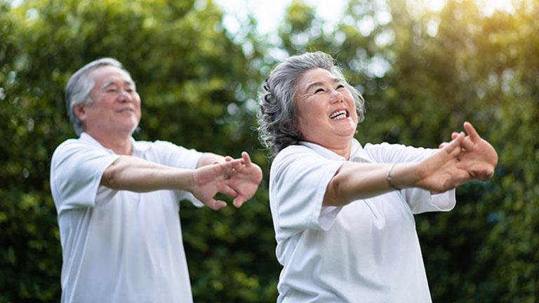 Luyện tập thể thao ngăn ngừa các bệnh về xương khớp và đau nhức dây thần kinh