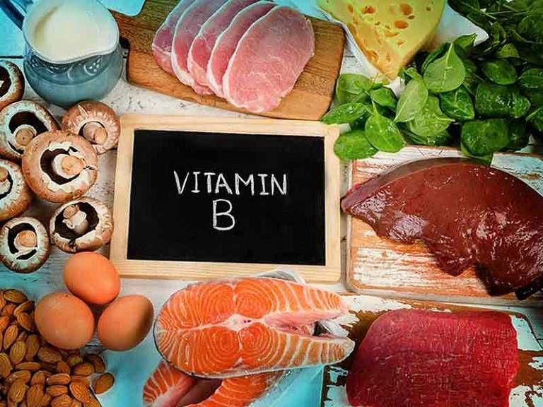 Thực phẩm chứa nhiều vitamin nhóm B rất tốt cho người bị đau dây thần kinh liên sườn