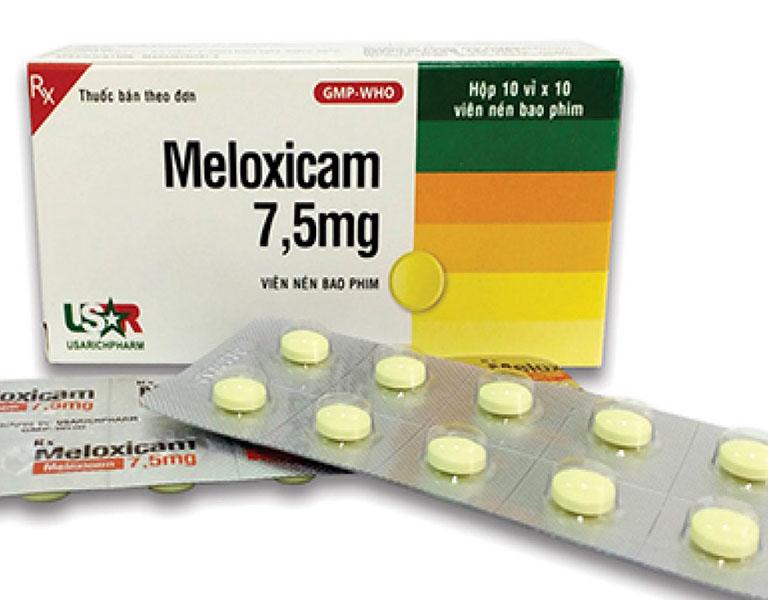 Thuốc chống viêm không steroid (NSAID) được chỉ định sử dụng cho bệnh nhân