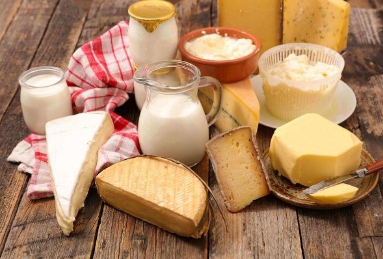 Sử dụng sữa và các chế phẩm từ sữa