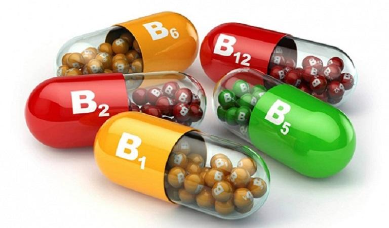 Viên uống chứa vitamin B hỗ trợ rất tốt cho việc điều trị