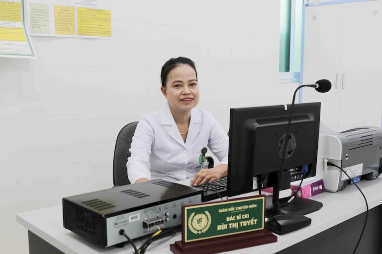 Bác sĩ Bùi Thị Tuyết - Bác sĩ chuyên khoa Nội tổng hợp