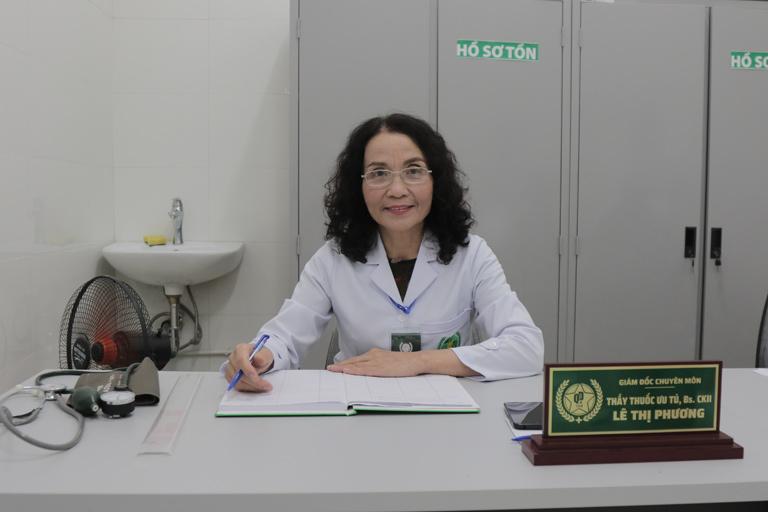 Bác sĩ Lê Phương người thăm khám trực tiếp cho nghệ sĩ Trần Đức