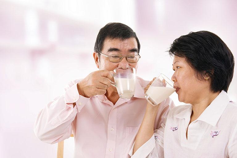 Sữa rất tốt cho hệ xương khớp