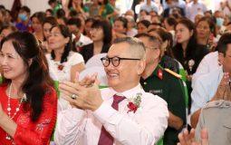 Nghệ sĩ Trần Đức tham dự lễ khai trương thương hiệu CTCP Bệnh viện Đa khoa YHCT Quân dân 102
