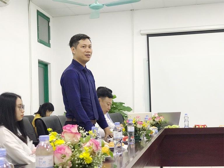 Ông Nhâm Quang Đoài - Giám đốc Trung tâm Nghiên cứu và nuôi trồng dược liệu Quốc gia Vietfarm