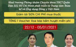 Khai trương bệnh viện Quân Dân 102 Hồ Chí Minh