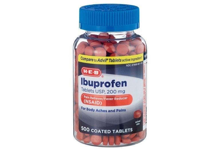 Ibuprofen là đại diện cho nhóm thuốc trị viêm khớp dạng thấp