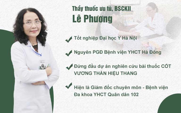 Bác sĩ Lê Phương - Giám đốc chuyên môn bệnh viện