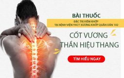 Bài thuốc Cốt Vương thần hiệu thang đặc trị bệnh viêm khớp