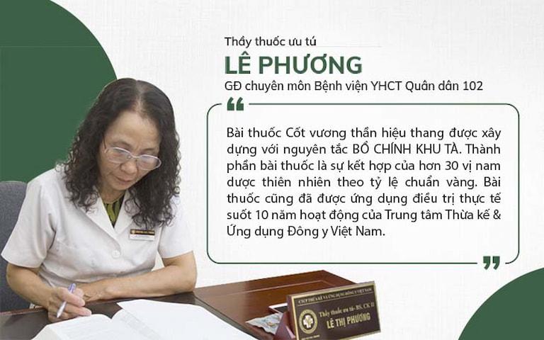 Bác sĩ Lê Phương dành nhiều thời gian nghiên cứu bài thuốc