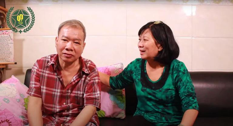 Bệnh nhân Lâm Duy Hội và em gái Kim Dung chia sẻ về quá trình điều trị thoái hóa khớp
