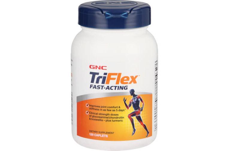 Viên uống GNC Triflex Promotes Joint Health ít gây tác dụng phụ, an toàn với hầu hết người bệnh