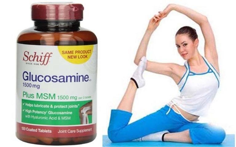 Thuốc trị đau khớp gối của Mỹ Schiff Glucosamine hỗ trợ sức khoẻ xương khớp rất hiệu quả