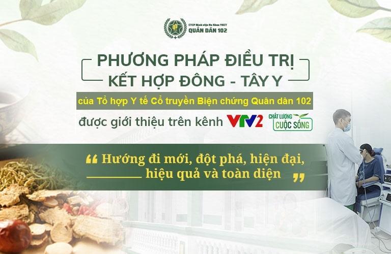 Bệnh viện Xương khớp Quân dân 102 ứng dụng phương pháp Đông y có biện chứng, kết hợp Đông - Tây y cho hiệu quả điều trị chính xác, an toàn