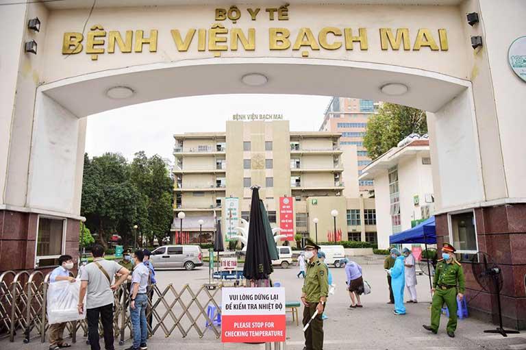 Bệnh viện Bạch Mai là địa chỉ được nhiều người tin tưởng lựa chọn