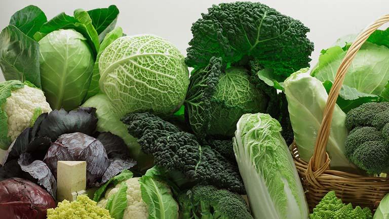 Các loại rau xanh có tác dụng với người bị đau dây thần kinh liên sườn