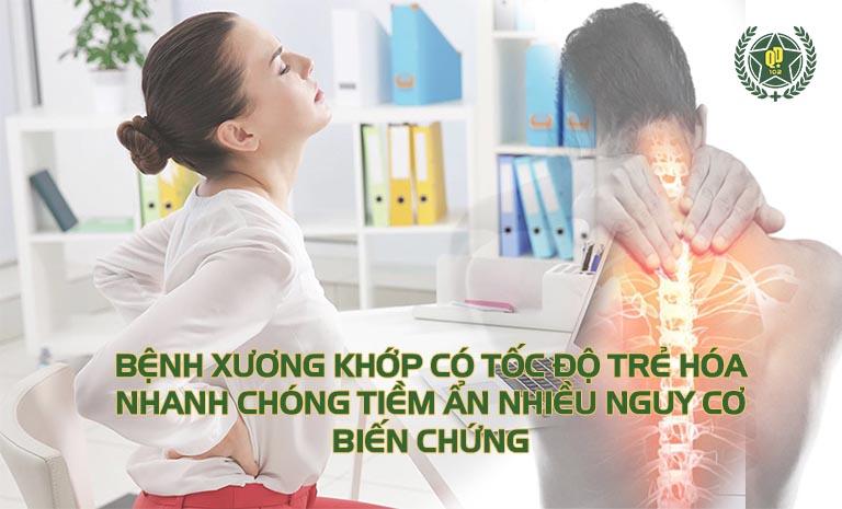 Bệnh cơ xương khớp ở người trẻ tuổi