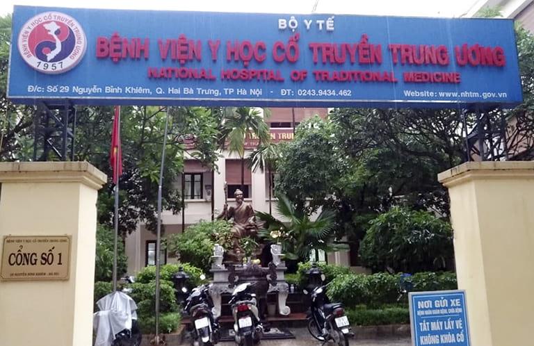 Bệnh viện Y học cổ truyền Trung Ương - Địa chỉ chữa thoát vị đĩa đệm ở Hà Nội