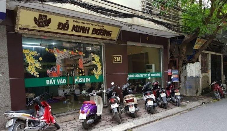 Chữa thoát vị đĩa đệm ở Hà Nội - Nhà thuốc Đỗ Minh Đường