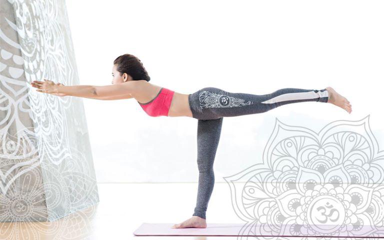 Tập tư thế thăng bằng để tăng cường sự dẻo dai cho toàn bộ cơ thể